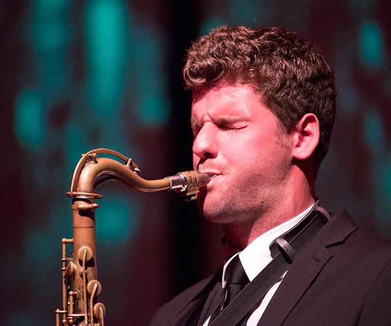 Altsaxofonist Stan van de Wetering.