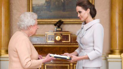 Koningin Elizabeth is een inspiratiebron voor Angelina Jolie