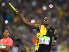 Bolt loopt ook de estafette op zijn laatste WK in Londen