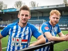 Jort en Jens keren met FC Eindhoven in stilte terug bij FC Den Bosch