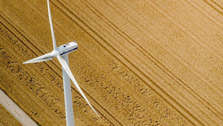 'Mark Rutte zei nog maar vijf jaar geleden dat windmolens niet op wind draaien, maar op subsidie' Beeld anp