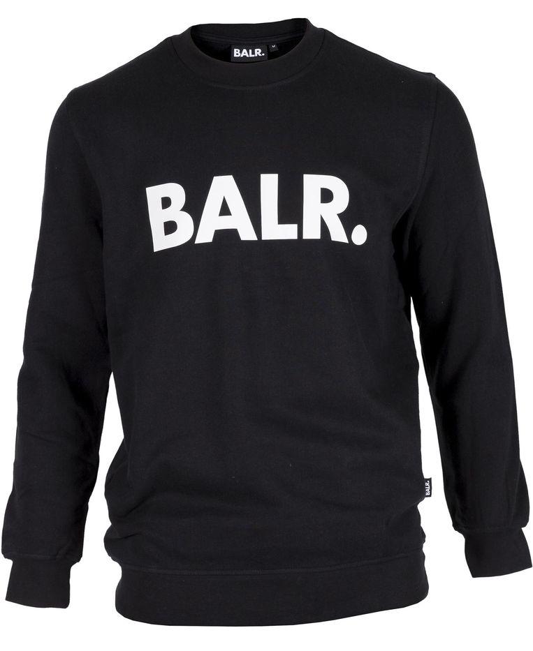 Voetballers zijn modepopjes. Dat snapten de voetballers Demy de Zeeuw en Gregory van der Wiel ook. Hun merk heet Balr en wordt wereldwijd gedragen door dj's en voetballers. Zwarte trui van BALR, € 150. balr.com Beeld