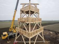 Dan staat er plots een uitkijktoren op de Needse Berg