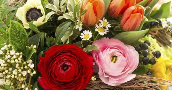 Secretaressedag ook feest voor de west brabantse bloemist for Bloemist breda