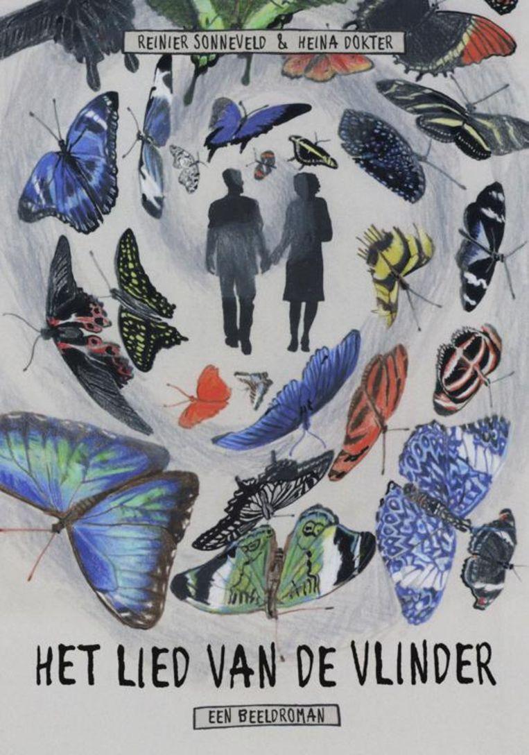 Reinier Sonneveld (tekst) en Heina Dokter (beeld): Het lied van de vlinder. Brandaan; € 19,90. Beeld Brandaan