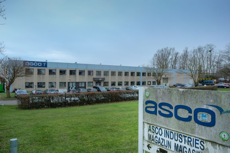 ASCO in Zaventem heeft de productie vrijdag stilgelegd.