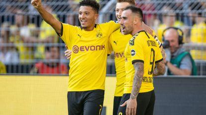 Dortmund met Witsel aan de aftrap blikt Leverkusen in, Thorgan Hazard valt in