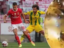 Deux joueurs de Benfica blessés après des jets de pierre sur leur bus