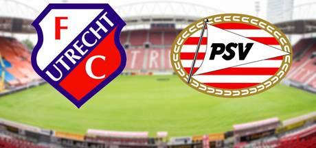 LIVE: FC Utrecht altijd lastige opponent voor PSV