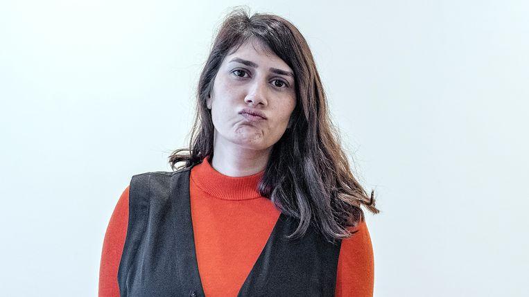 Fatma Aydemir. Beeld Patrick Post