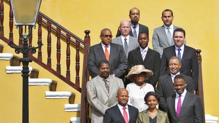Het gevallen kabinet-Whiteman wordt aangevuld met de PAR. Beeld anp