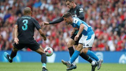 Napoli en Mertens hebben geen medelijden met Liverpool in oefenduel