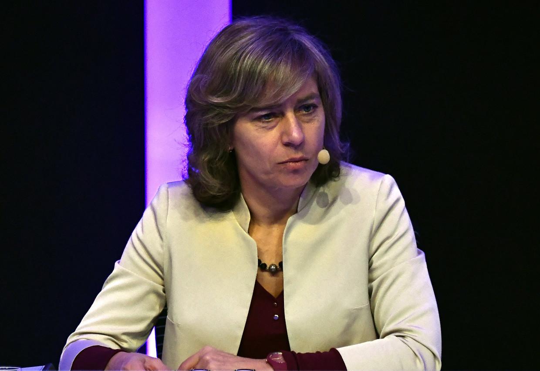 Dominique Leroy, CEO van Proximus. Hebben topvrouwen zoals zij een impact op de winstgevendheid van hun bedrijf?