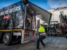 Varkens boffen; brouwers pompen bier uit Bossche cafés
