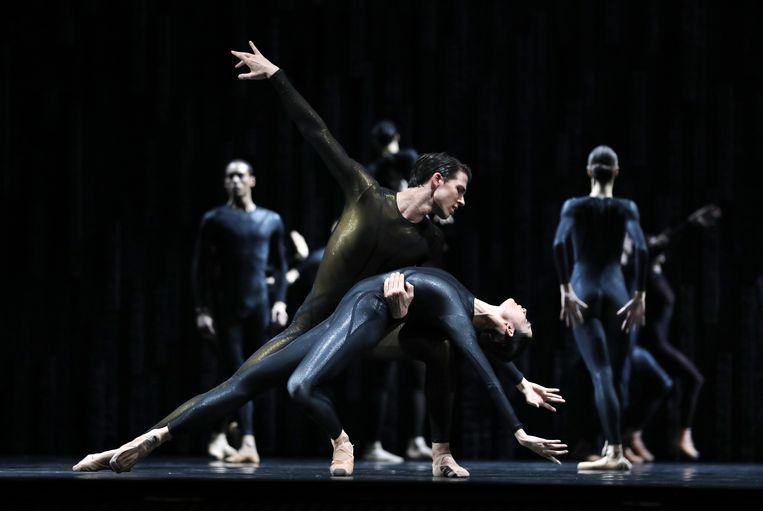 'Requiem', uitgevoerd door Het Nationale Ballet. Beeld HANS GERRITSEN