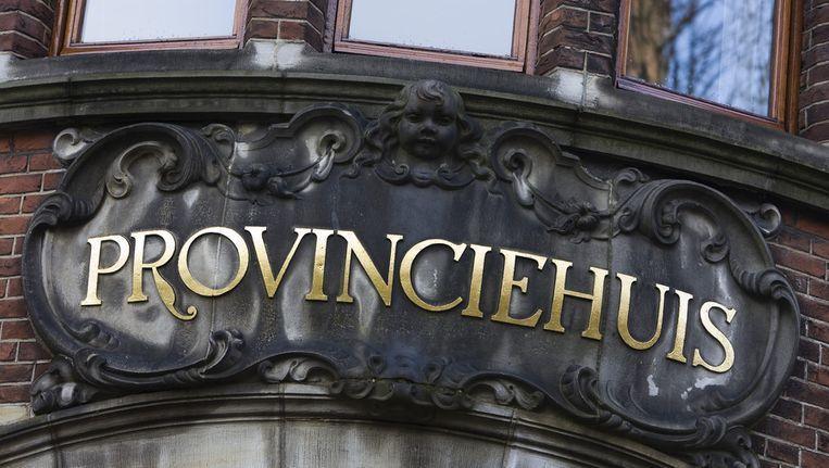 Het Provinciehuis van Groningen. Beeld anp