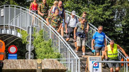 Tweede wandeldag Vierdaagse lokt 5.730 mensen  naar Diksmuide