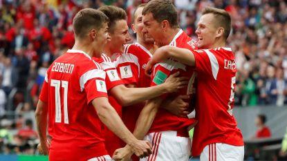 Fysiek sterkere Russen geven Saoedi-Arabië pak voor de broek: 5-0!