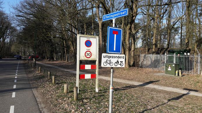 De Eftelingsestraat wordt de zuidelijke toegangsweg naar de Efteling.