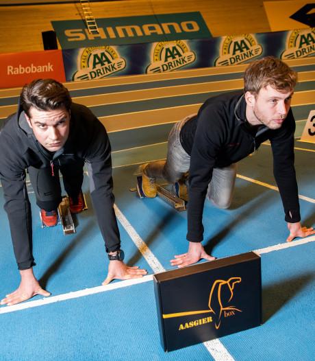 Missie Jan de kantoorman: Mariniers Sam en Joost zetten Apeldoornse kantoortuin op scherp met gezond lekkers