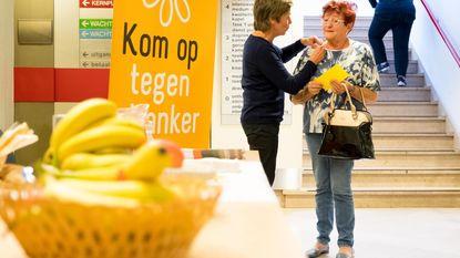 Gele lintjes steunen kankerpatiënten