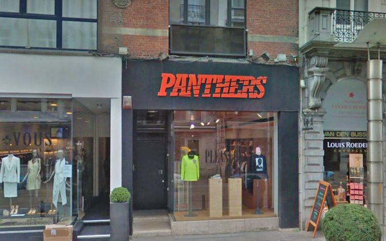 De Gentse Panthers Store.