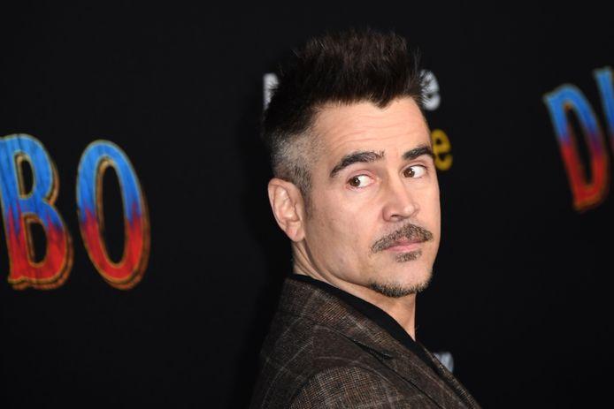 "Colin Farrell à l'avant-première de ""Dumbo"", en mars 2019."