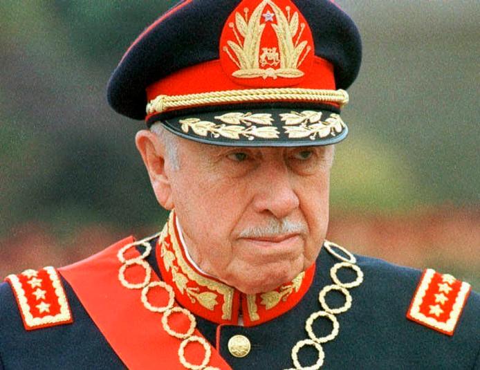 De voormalige Chileense dictator Augusto Pinochet.