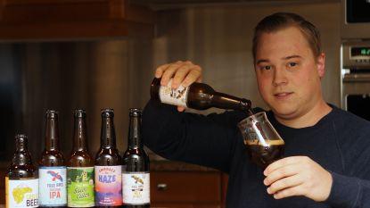 """Hobbybrouwer Stijn (28) bracht zes bieren op de markt in 2019: """"Mijn garage wordt binnenkort een microbrouwerij"""""""