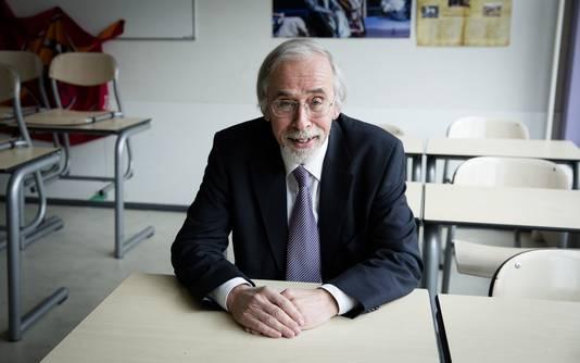 Oud-rector Hans Rookmaker.