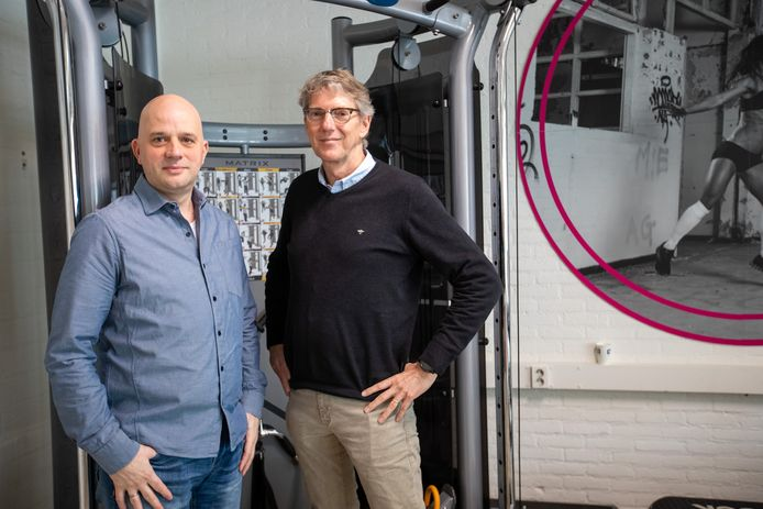 Michel Knubben (l) en Ruud Sleumer van Knubb E-motion Engineering.