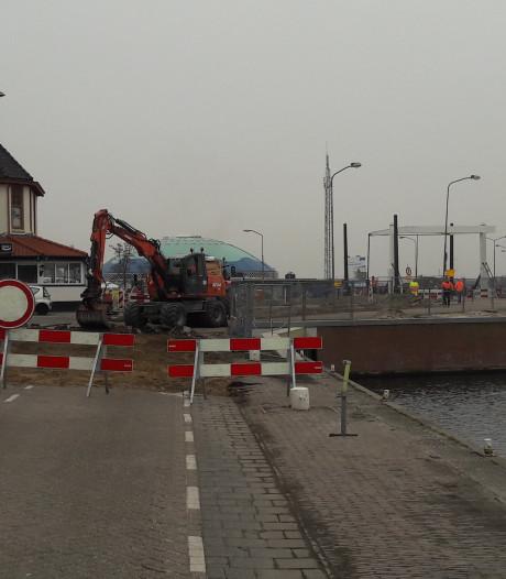 Havendam Harderwijk op de schop: verkeer wordt omgeleid