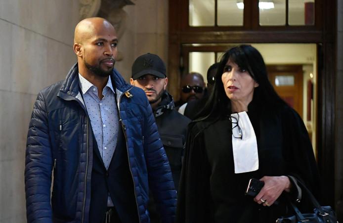 Le rappeur lors de son procès en septembre 2017.