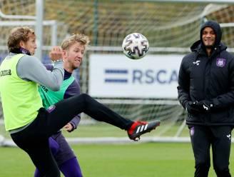 Er kan weer gelachen worden op training bij Anderlecht
