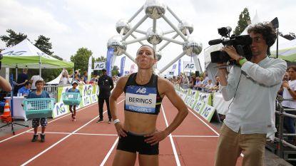 Eline Berings wint 100 meter horden in Brussel, Team Sacoor is de beste in de aflossing