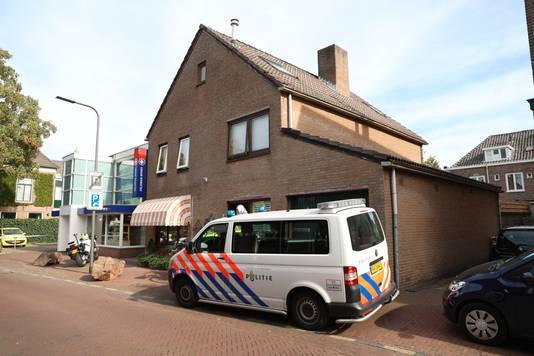 De politie in Velp.