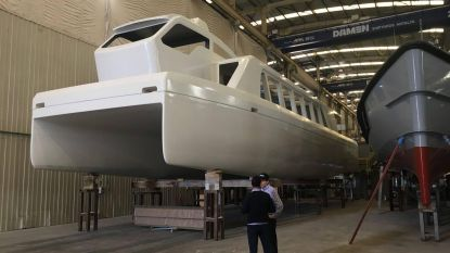 Waterbus vaart in de zomer tot in de haven (en wil betrouwbaar zijn)