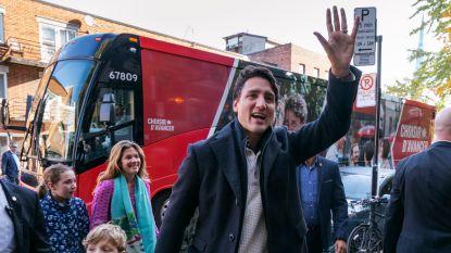 'Trudeau verliest meerderheid, maar blijft wel premier van Canada'