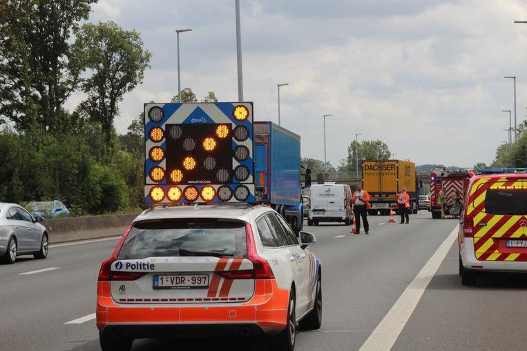 Wegpolitie Autowegpolitie E40.