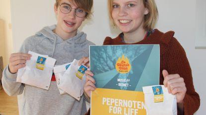 Zussen bakken Pepernoten for Life voor ziek neefje Briek (11): 2.312 euro ingezameld voor Bednet