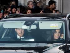 Britse royals genieten van kerstlunch in Buckingham Palace