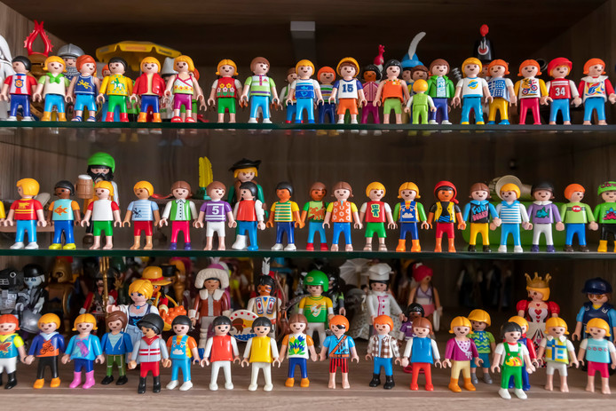 Tilburg- Pix4Profs - Joris Buijs Ingrid en Arno Vermolen  Playmobil verzameling