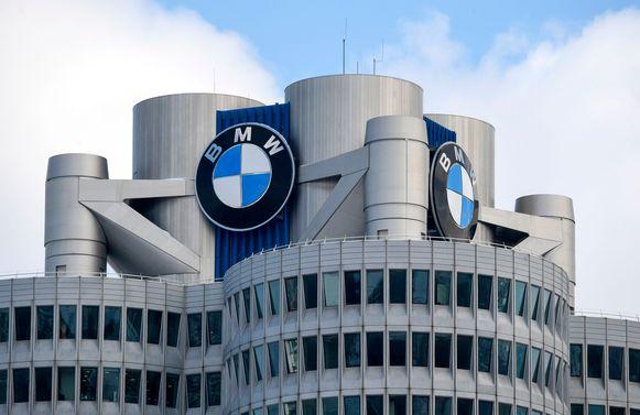 Het hoofdkantoor van autofabrikant BMW in München.