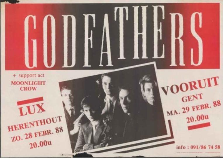 Meer dan 30 jaar geleden stonden The Godfathers ook al op het podium van Zaal Lux in Herenthout.