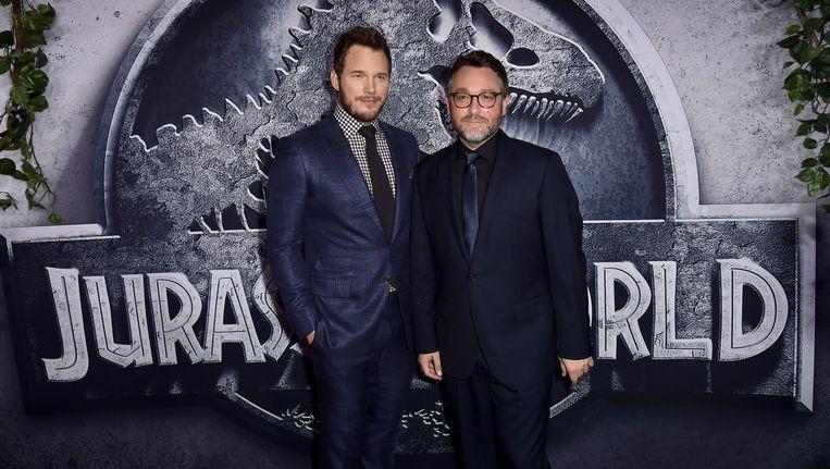 Chris Pratt en regisseur Colin Trevorrow