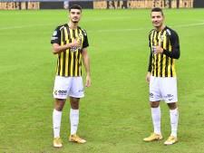 Broja en Darfalou spitsenduo Vitesse tegen VVV