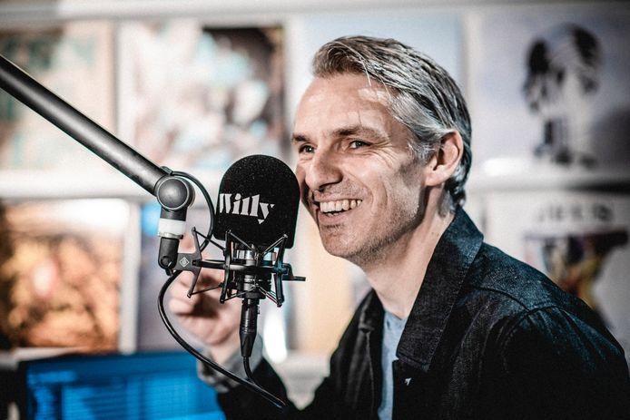 Wim Oosterlinck van radiozender Willy