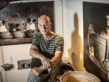 Kunstenaar Jan Gerber uit Goor exposeert in het Bussemakerhuis