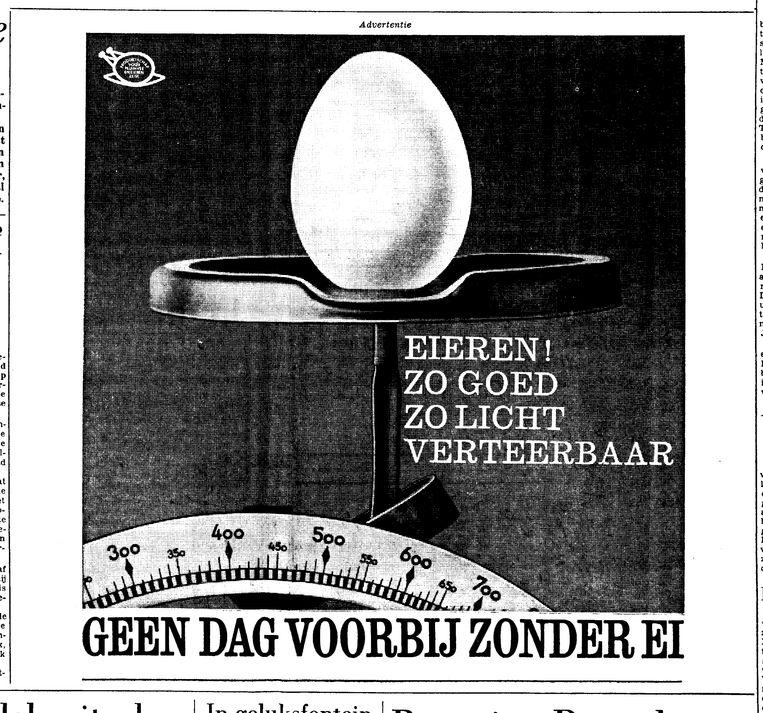 Advertentie uit Trouw. Beeld