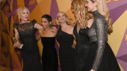 Allemaal black beauty: de mooiste jurken van de Golden Globes
